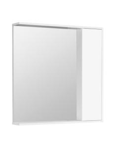 Акватон Стоун 80 Зеркальный шкаф, Белый