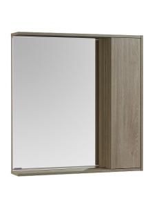 Акватон Стоун 80 Зеркальный шкаф, Сосна арлингтон