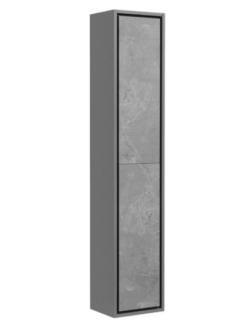 Комплект Aquaton Уэльс 30 – Шкаф-колонна, Темный шоколад