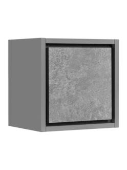 Комплект Aquaton Уэльс 30 – Шкафчик подвесной, Темный шоколад