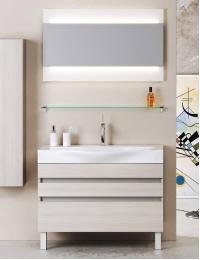 Aqwella Bergamo 100 Напольный комплект мебели