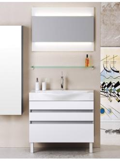 Aqwella Bergamo 80 – Напольный комплект мебели для ванных комнат