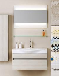 Aqwella Bergamo 80 Подвесной комплект мебели
