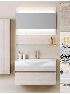 Aqwella Bergamo 80 – Подвесной комплект мебели для ванных комнат