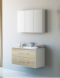 Aqwella Miami 100 – комплект мебели для ванной