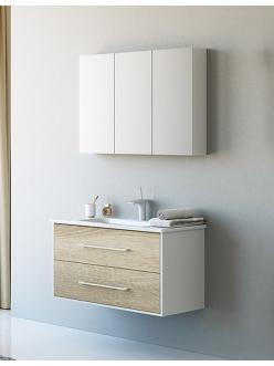 Аквелла Маями 100 – Комплект мебели для ванной комнаты