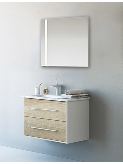Аквелла Маями 80 – Комплект мебели для ванной комнаты