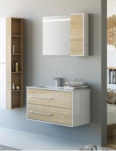 Aqwella Miami  90 – комплект мебели для ванной