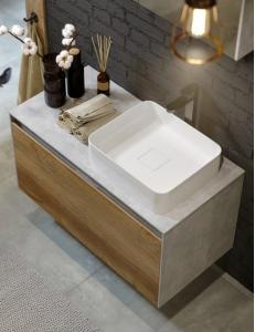 Aqwella Mobi 100 Подвесной комплект мебели для ванной