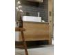 Aqwella Mobi 100 (Моби 100) Подвесная мебель для ванной с накладной раковиной