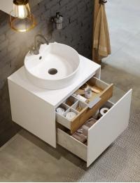 Aqwella Mobi 60 Подвесной комплект мебели для ванной