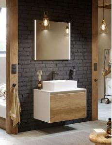 Aqwella Mobi  80 Подвесной комплект мебели для ванной