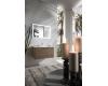 Armadi Art Luce LC71 – Подвесная мебель для ванной с раковиной-столешницей