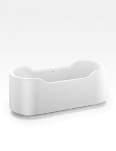 Armani Roca Baia Ванна отдельностоящая белая матовая