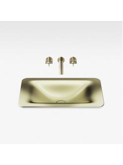 Armani Roca Baia – Раковина встраиваемая сверху 66 см, shagreen matt gold (3270C3R90)