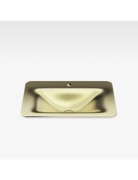 Armani Roca Baia Раковина встраиваемая сверху 66 см с 1 отв., matt gold