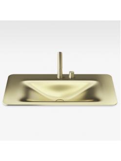 Armani Roca Baia – Раковина встраиваемая сверху 90 см, matt gold (3270C0R82)
