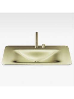 Armani Roca Baia – Раковина встраиваемая сверху 90 см, shagreen matt gold (3270C0R92)