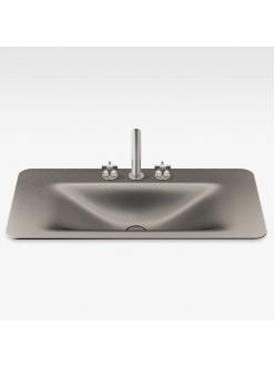 Armani Roca Baia – Раковина встраиваемая сверху 90 см, shagreen dark metallic (3270C0R73)