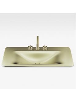 Armani Roca Baia – Раковина встраиваемая сверху 60 см, shagreen matt gold (3270C6R93)
