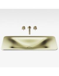 Armani Roca Baia Раковина встраиваемая сверху 90 см, shagreen matt gold