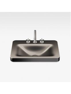Armani Roca Baia – Раковина встраиваемая сверху 66 см, dark metallic (3270C6R43)