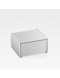 Armani Roca Island Держатель для туалетной бумаги с крышкой, хром