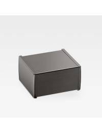 Armani Roca Island Держатель для туалетной бумаги с крышкой, nero