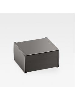 Armani Roca Island 816620039 – Держатель для туалетной бумаги с крышкой, цвет nero