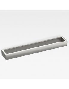 Armani Roca Island Полотенцедержатель - полочка 75,2 см, brushed steel