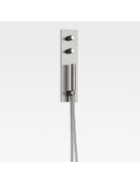 Armani Roca Island Встроенный комплект для душа, brushed steel
