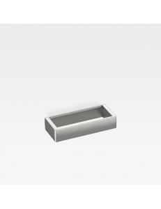 Armani Roca Island Полотенцедержатель 28,4 см, brushed steel