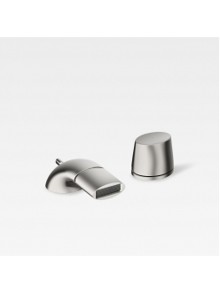 Armani Roca Island 5A6076VS0 – Смеситель для биде на 2 отв, цвет brushed steel