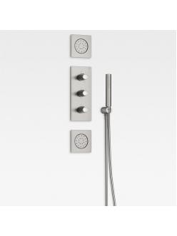 Armani Roca Island 5A2976VS0 – Комплект встраиваемой душевой системы brushed steel