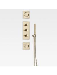 Armani Roca Island Комплект встраиваемой душевой системы, greige