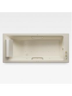 Armani Roca Island 248243R3C – Встраиваемая ванна 180 см с аэромассажем, цвет greige
