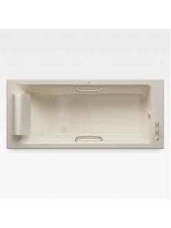 Armani Roca Island 248244R3C – Встраиваемая ванна 180 см с термостатом, цвет greige