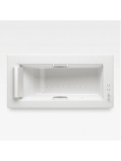 Armani Roca Island 248200001 – Встраиваемая ванна 214,5 см с аэромассажем, цвет glossy white/хром