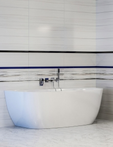Астра-Форм Атрия 170х85 Ванна из литьевого мрамора, пристенная