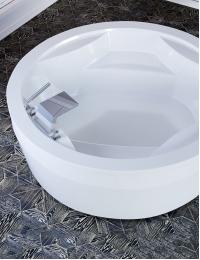 Астра-Форм Аврора 190 Ванна круглая из полимер-гелькоута
