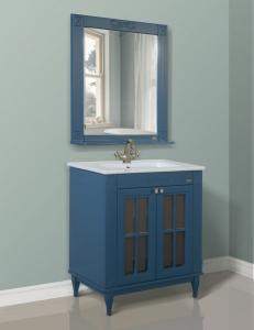 Атолл Милана Blue Комплект мебели для ванной, Синий