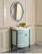 Атолл Неаполь Heaven Комплект мебели для ванной, Небесно-голубой