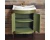 Мебель для ванной АТОЛЛ НЕАПОЛЬ Серо-бежевый, патина слоновая кость