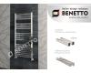 Benetto Модена – Водяной полотенцесушитель из нержавеющей стали