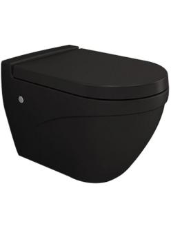 Bocchi Taormina 1012-004-0129 Унитаз подвесной, чёрный матовый 004