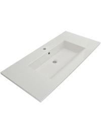 Bocchi Milano 1105-001-0126 Раковина накладная 100 см, белый