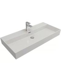 Bocchi Milano 1378-001-0126 Раковина накладная 100 см, белый