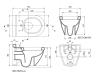 Bocchi Taormina Arch 1012-007-0129 Унитаз подвесной, Матовый Жасмин 007