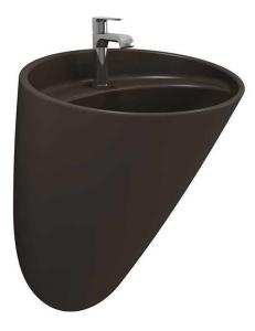 Bocchi Venezia 1083-025-0126 Раковина подвесная, кофейный матовый