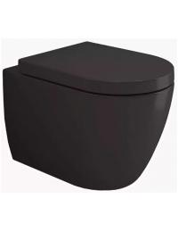 Bocchi Venezia Rimless 1295-004-0129 Унитаз подвесной, черный матовый